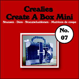 "Create A Box MINI ""Koffer"" - Crealies"