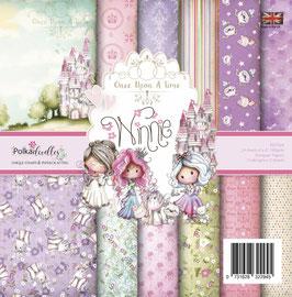 Winnie Fairytale 6x6 Paperpad - Polkadoodles