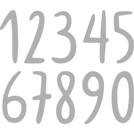 "Stanzschablonen ""Freehand Numbers"" - Rayher"