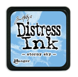 Tim Holtz Distress Mini Ink - Stormy Sky