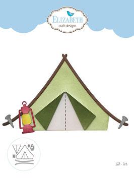 """Stanzschablone """"Tent"""" - Elizabeth Craft Designs"""