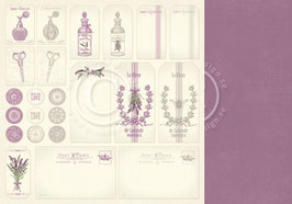 Scent of Lavender, Tags - Pion Design