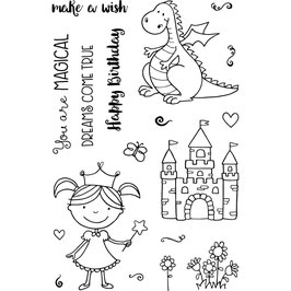 "Clearstampset ""Magical"" - Jane's Doodles"