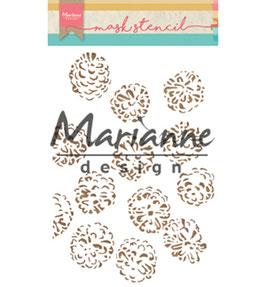 "Schablone ""Tiny's Pine Cone"" - Marianne Design"