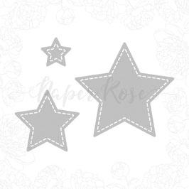 "Stanzschablone ""Small Stitched Stars"" - Paper Rose"