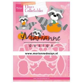 "Collectables ""Eline's Raccoon"" - Marianne Design"