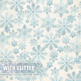 "Designpapier ""North Wind Glitter #2"" - Craft&You"
