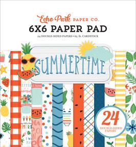 Summertime 6x6 Paperpad - Echo Park