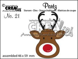 Partz No.21 Rentier - Crealies
