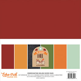 My Favorite Fall 12x12 Coordinating Solids - Echo Park