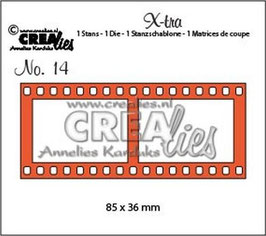 "Xtra No.14 ""Filmstrip Large"" - Crealies"