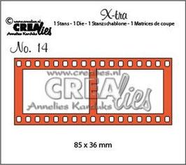 "Xtra No.14 ""Filmstrip Large"" - Crealies"