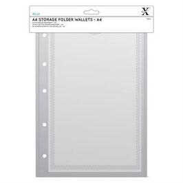 A4 Storage Folder Wallets - Xcut
