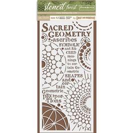 Sacred Geometry, Schablone - Stamperia