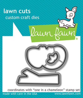 """Stanzschablone """"One In A Chameleon"""" - Lawn Fawn"""
