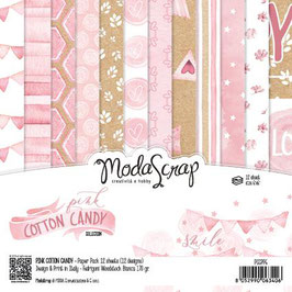Pink Cotton Candy 6x6 - Moda Scrap