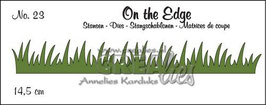 "Stanzschablone ""On The Edge Nr. 23"" - Crealies"