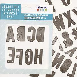 """Stanzschablonen """"Alphabet""""- Artemio"""