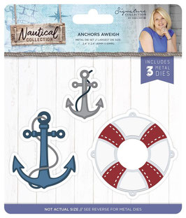 """Stanzschablone """"Nautical, Anchors Aweigh"""" - Crafter's Companion"""
