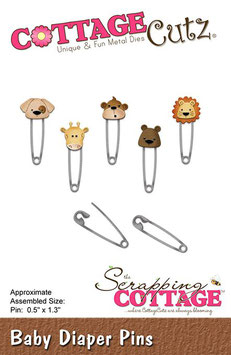 Diaper Pins - CottageCutz
