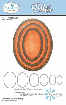 Fitted Ovals - Elizabeth Craft Designs