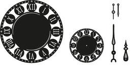 """Craftables """"Clock"""" - Marianne Design"""