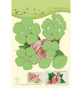 """Stanzschablone """"Multi Die Flower - Rose 3D"""" - Leane Creatief"""