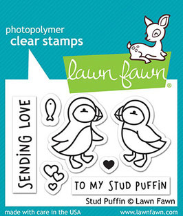 "Clearstamp ""Stud Puffin"" - Lawn Fawn"