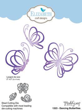 Dancing Butterflies - Elizabeth Craft Designs