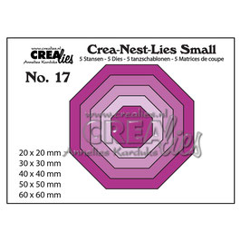 "Stanzschablone ""Octagon #17"" - Crealies"