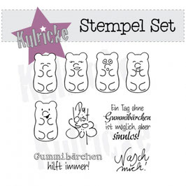 "Clearstamps ""Gummibärchen-Set"" - Kulricke"