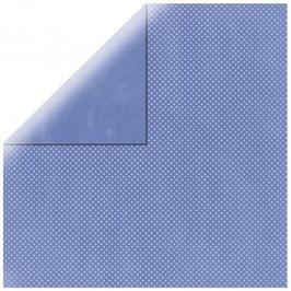 Double Dot Blauviolett (Periwinkle) - Bo Bunny