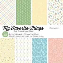 Spring Whimsy 6x6 Paperpad - My Favorite Things