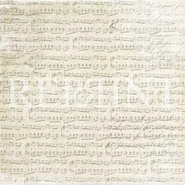 Music & Roses, Music Sheet - Reprint