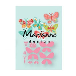 "Collectables ""Eline's Butterflies"" - Marianne Design"
