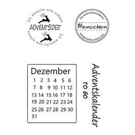 "Clearstamp ""Advent"" - EFCO"
