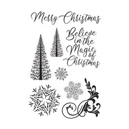 """Clearstampset """"Let It Snow"""" - Kaisercraft"""