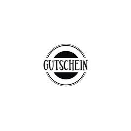 """Holzstempel """"Gutschein"""""""