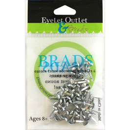 "Brads ""Silver"" - Eyelet Outlet"