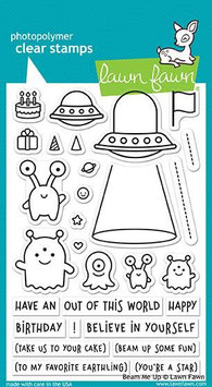 "Clearstampset ""Beam Me Up"" - Lawn Fawn"
