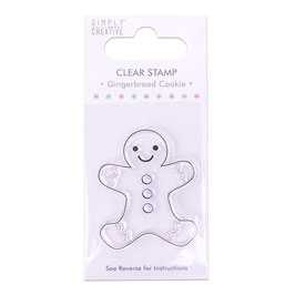"""Clearstamp """"Gingerbread Cookie"""" - Simply Creative"""