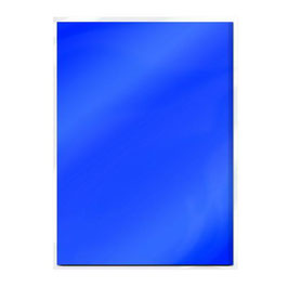 Cobalt Velour High Gloss Mirror Card - Tonic Studios