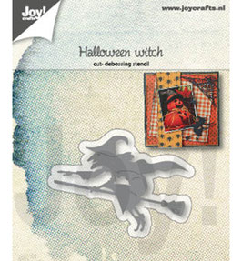 "Stanzschablone ""Halloween Hexe"" - Joy!Crafts"