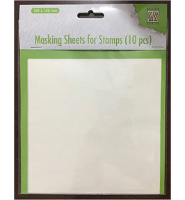 Masking Sheets für Stempel - Nellies Choice