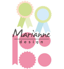 "Collectable ""Rosettes & Labels"" - Marianne Design"