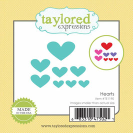 Little Bits Hearts - Taylored Expressions