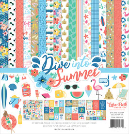 Dive Into Summer 12x12 Collection Kit - Echo Park