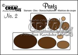"""Partz No. 2 """"Augen"""" - Crealies"""