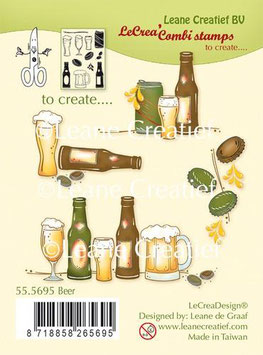"Clearstamp ""Beer"" - LeCrea"