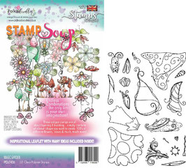 "Clearstampset ""Magic Garden Soup"" - Polkdadoodles"